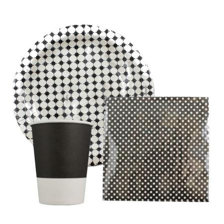 Black & White tableware