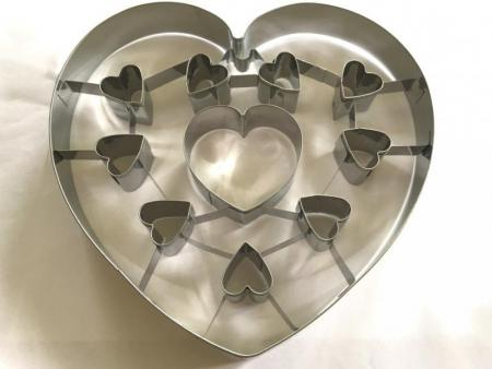 Valentine Cookie Cutters